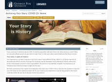 Archiving Your Story: COVID-19